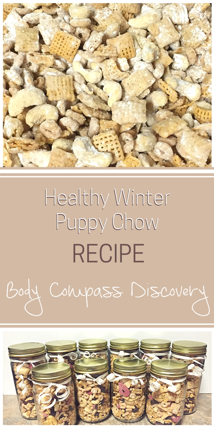 Healthy Winter Puppy Chow Recipe