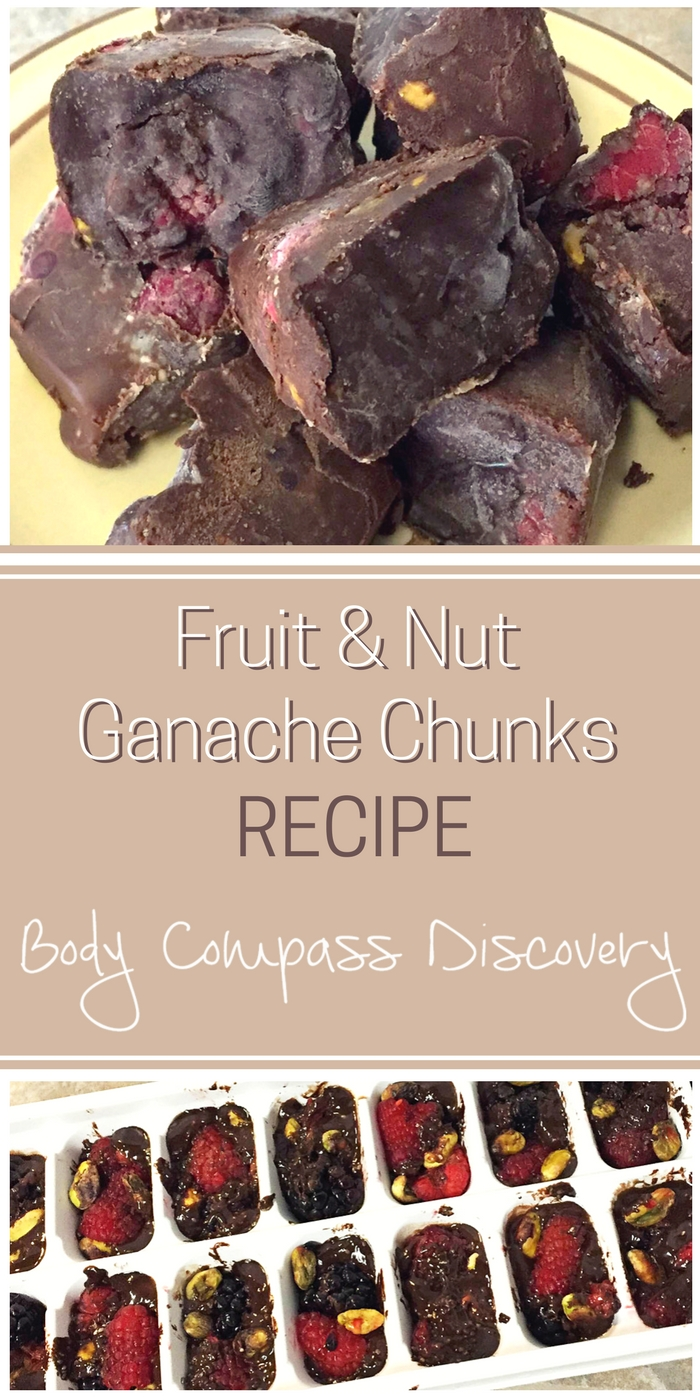 Fruit and Nut Ganache Chunks Recipe