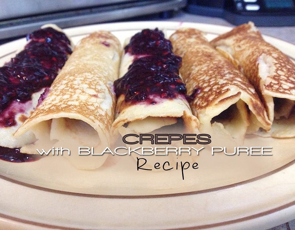 Crepes With Blackberry Puree Body Compass Discovery