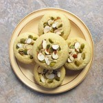 coconut muffins with pumpkin seeds and almonds