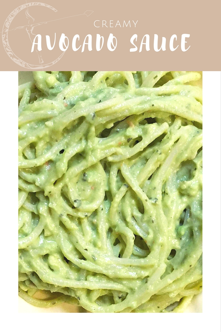 Creamy Avocado Sauce recipe from Body Compass Discovery's blog