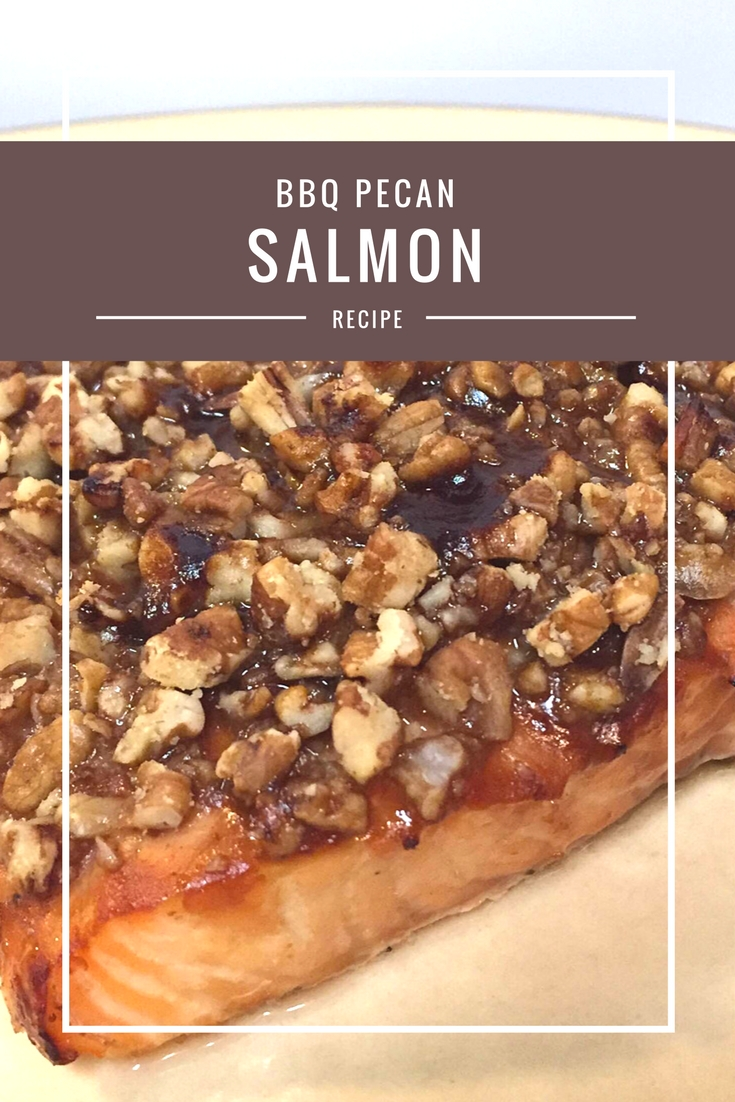 BBQ Pecan Salmon recipe from Body Compass Discovery's blog
