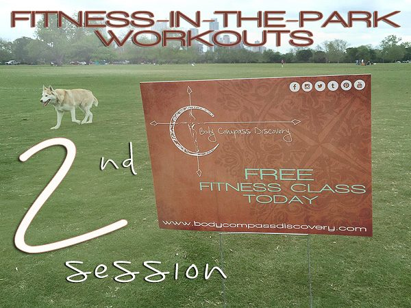 2nd fitness in the park session photo