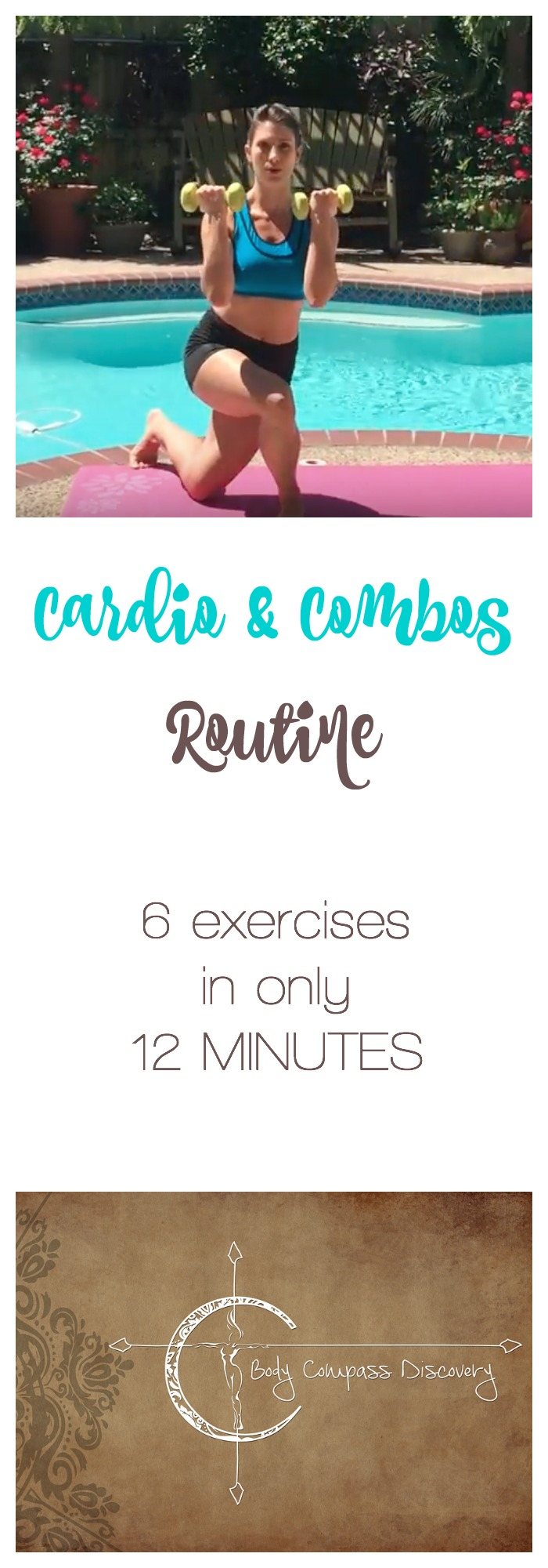 cardio and combos routine feature ad