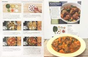 meatball ragout blue apron meal photo