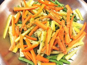 french green beans and carrots sauté