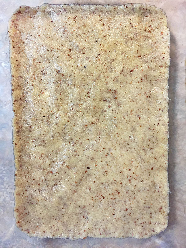 almond coconut crust