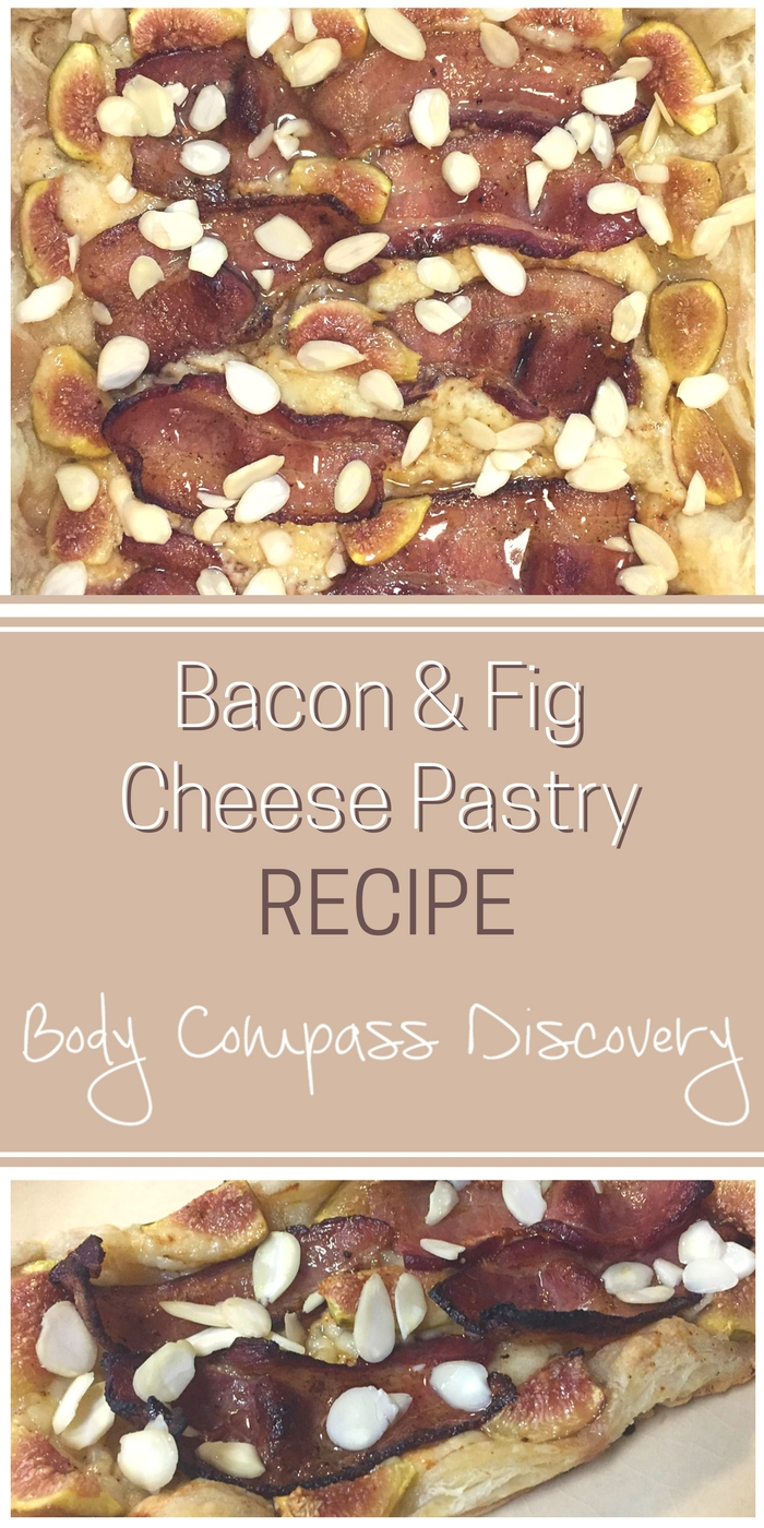 Bacon & Fig Almond Cheese Pastry recipe