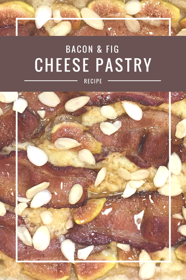 Bacon and Fig Cheese Breakfast Pastry from Body Compass Discovery's blog