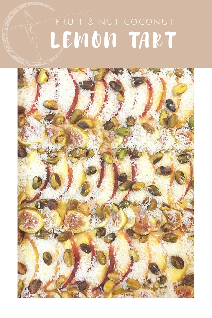 fruit and nut Lemon Tart from Body Compass Discovery's blog
