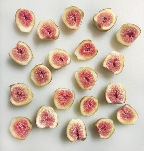 fresh cut figs photo