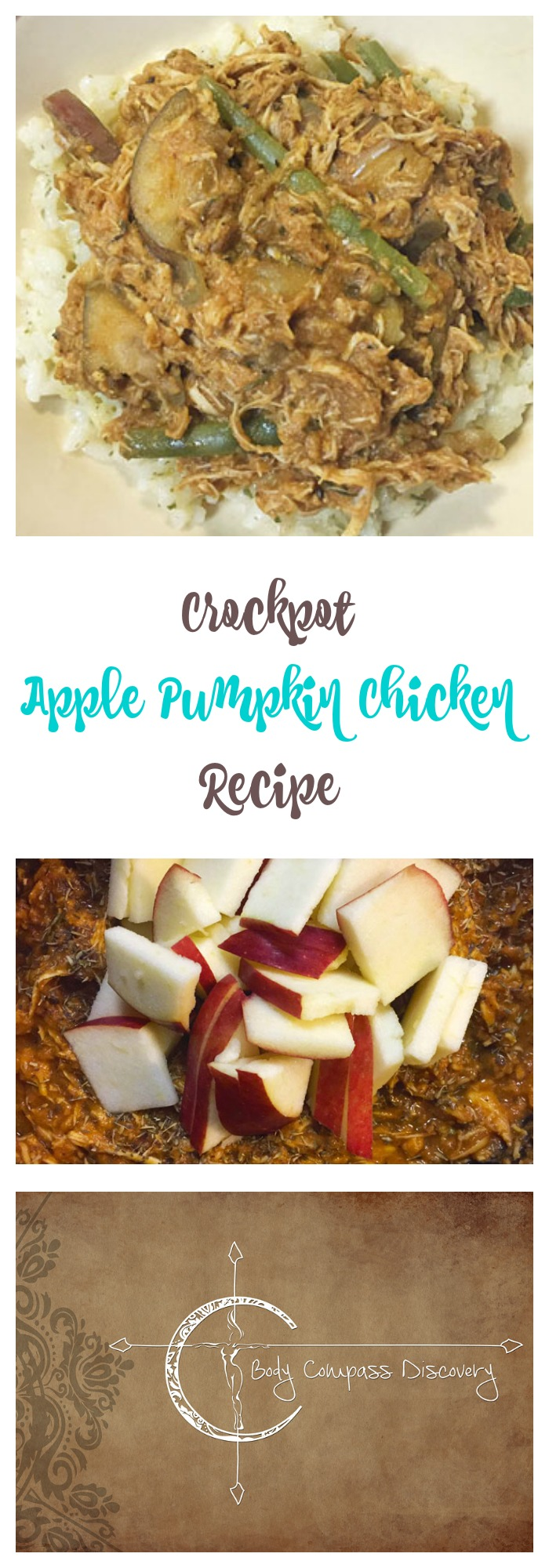 Apple Pumpkin Chicken crockpot recipe