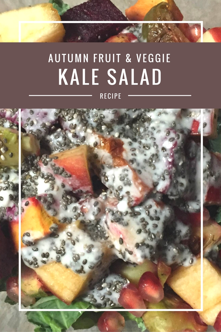autumn kale salad feature ad