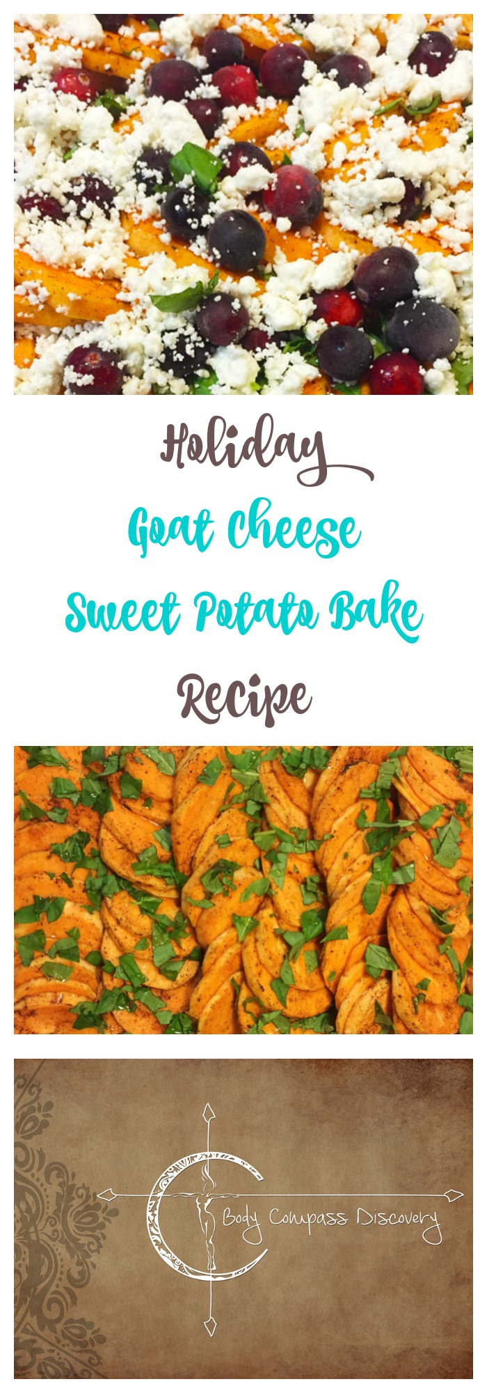 Holiday Sweet Potato bake recipe