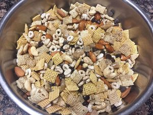 coated chai chex mix