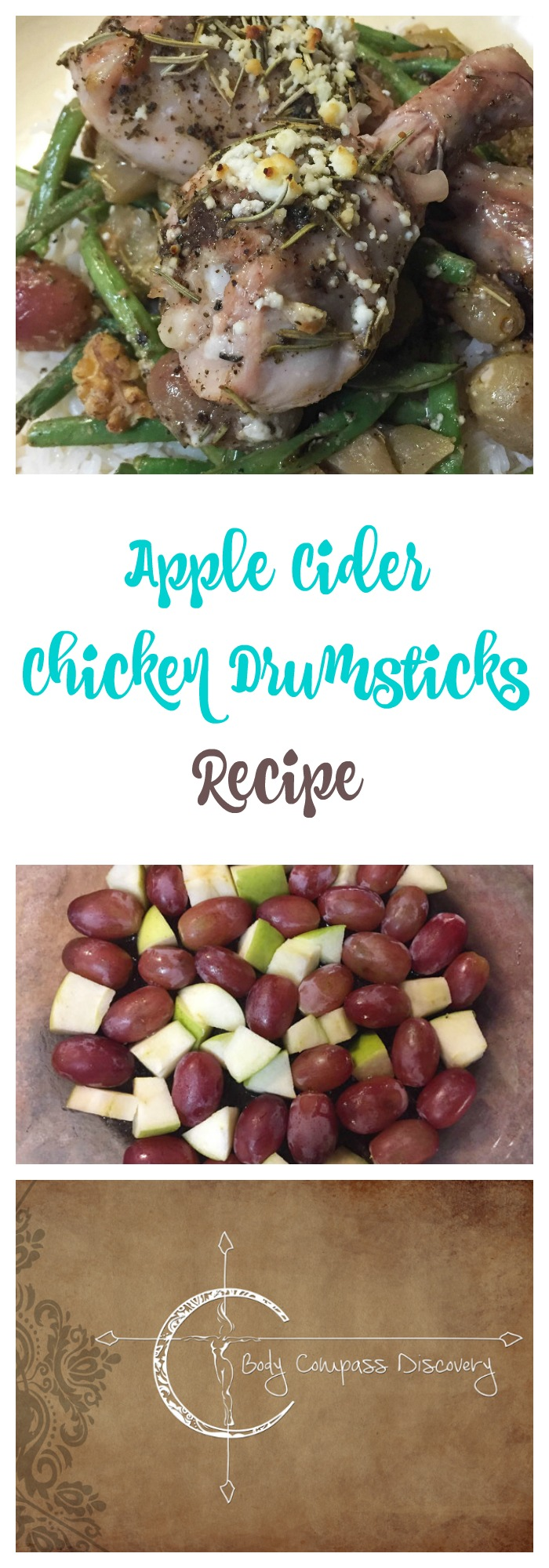 apple cider chicken drumsticks recipe