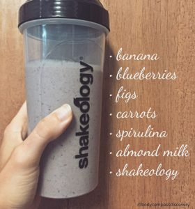 fig carrot almond green shakeology