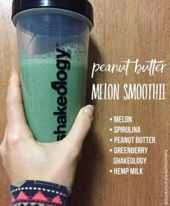 peanut butter melon shakeology