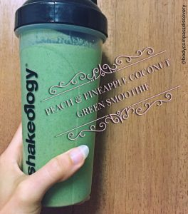 pineapple peach green coconut shakeology