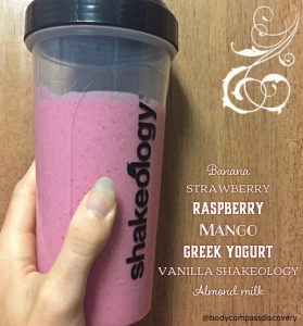 tropical berry vanilla nut shakeology