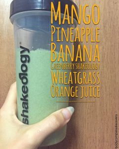 tropical green superfood shakeology