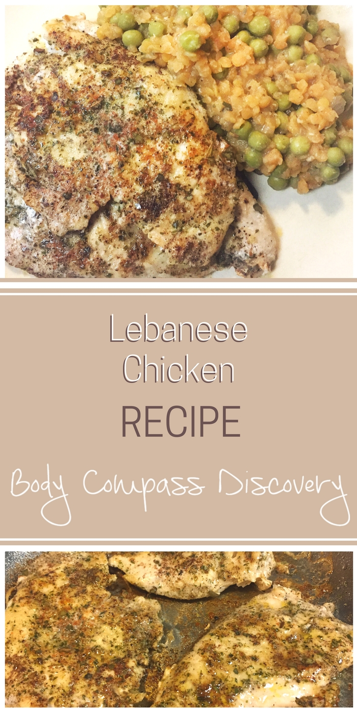 Lebanese chicken recipe