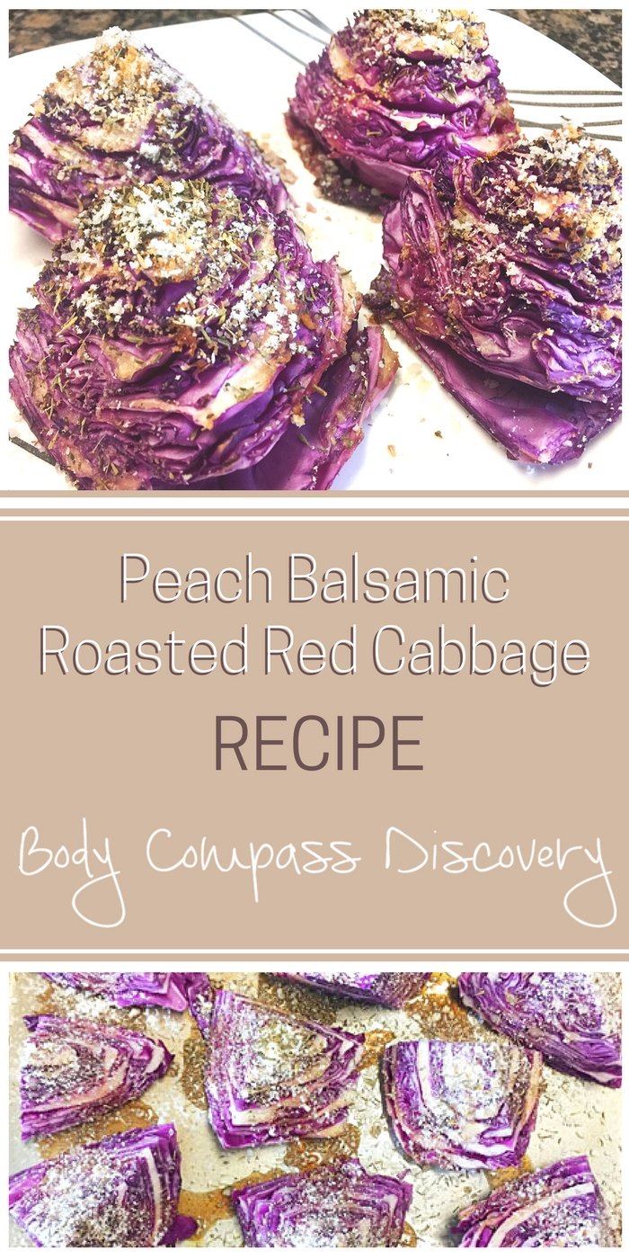 Balsamic Roasted Red Cabbage recipe
