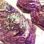 cheese balsamic red cabbage