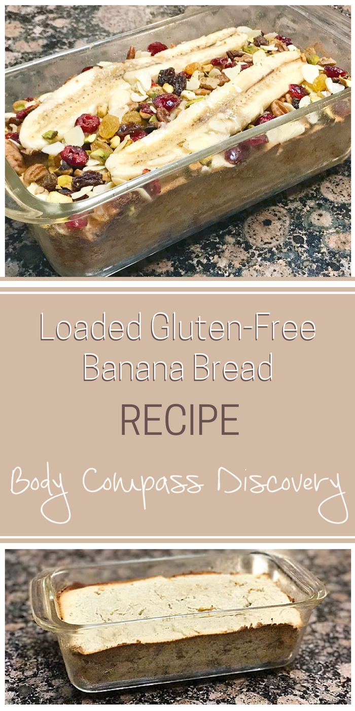 Loaded gluten-free banana bread recipe