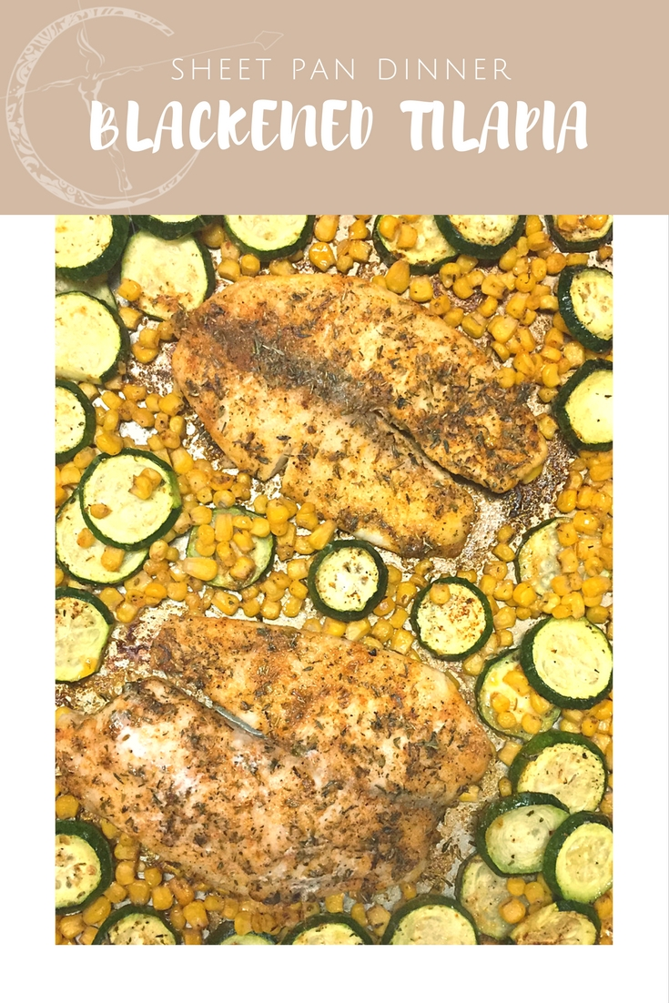 Tilapia Sheet Pan Dinner recipe from Body Compass Discovery's blog