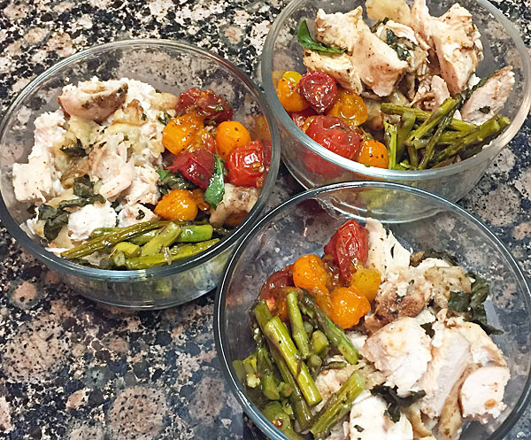 bruschetta chicken meal prep