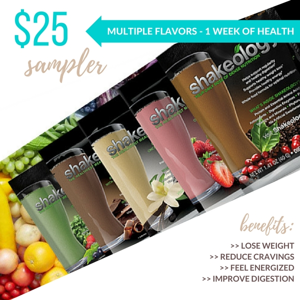 #shakeology 7 day variety sampler coach trial through Body Compass Discovery for a daily superfood protein powder