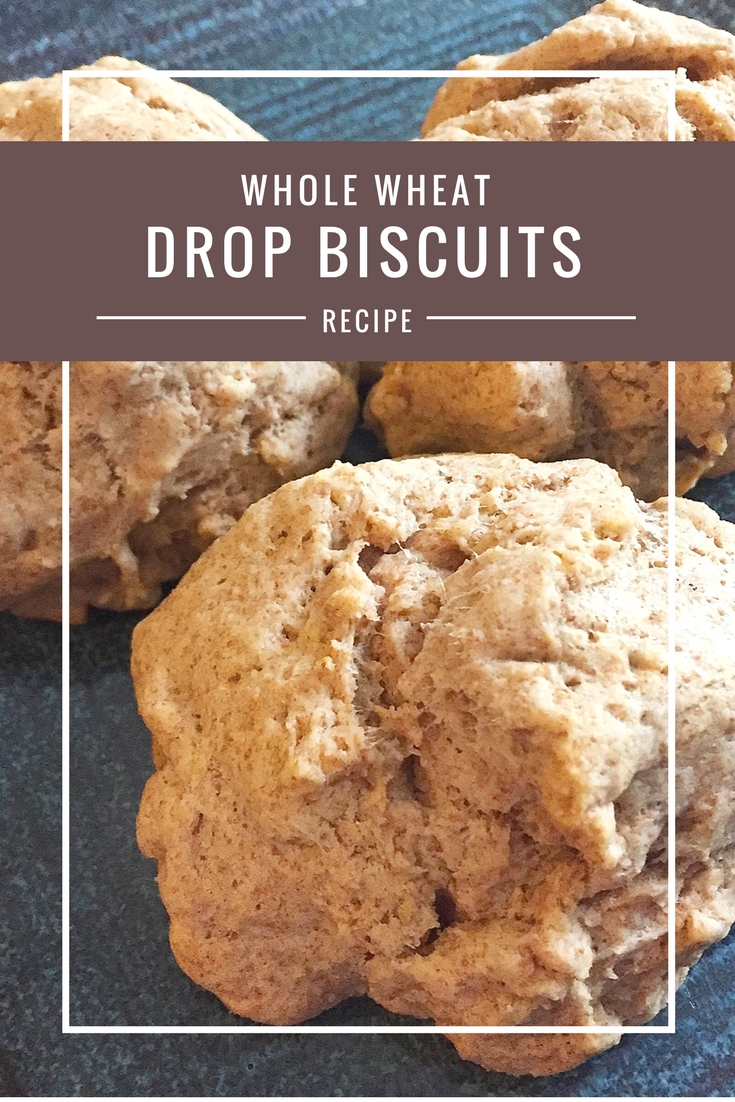 Whole Wheat Drop Biscuits recipe from Body Compass Discovery's blog