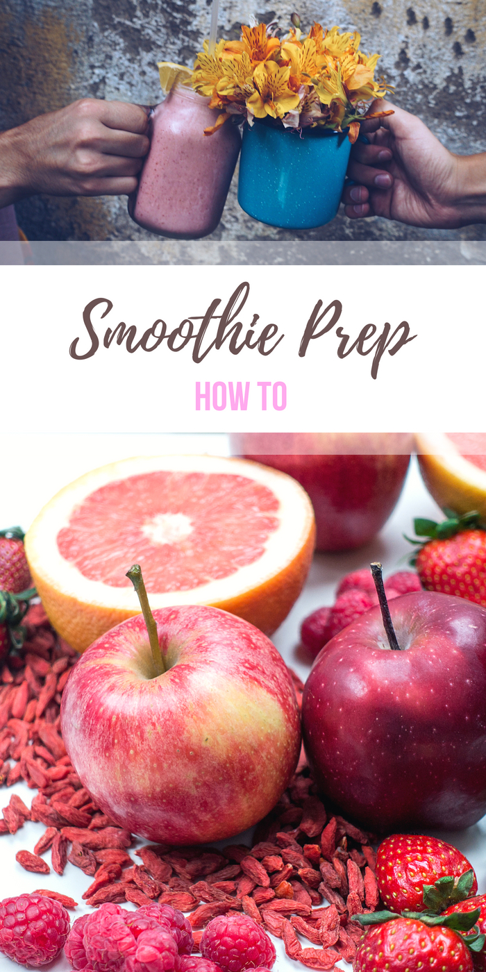How to Smoothie Prep from Body Compass Discovery's blog