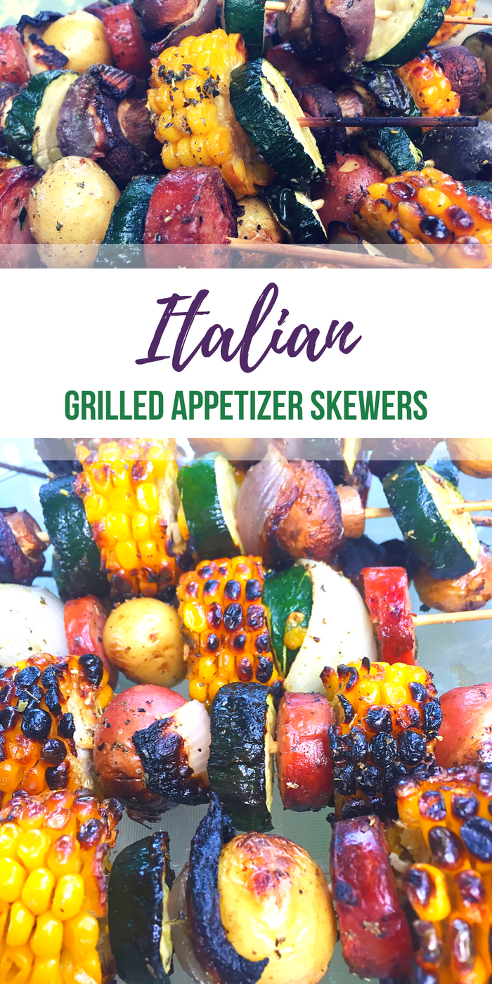 Italian Grilled Skewers recipe