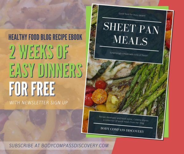 Body Compass Discovery Sheet Pan Meals FREE ebook ad