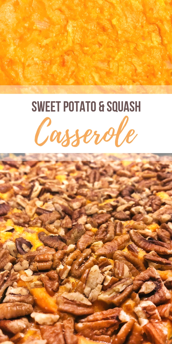 Sweet Potato and Squash Casserole Recipe