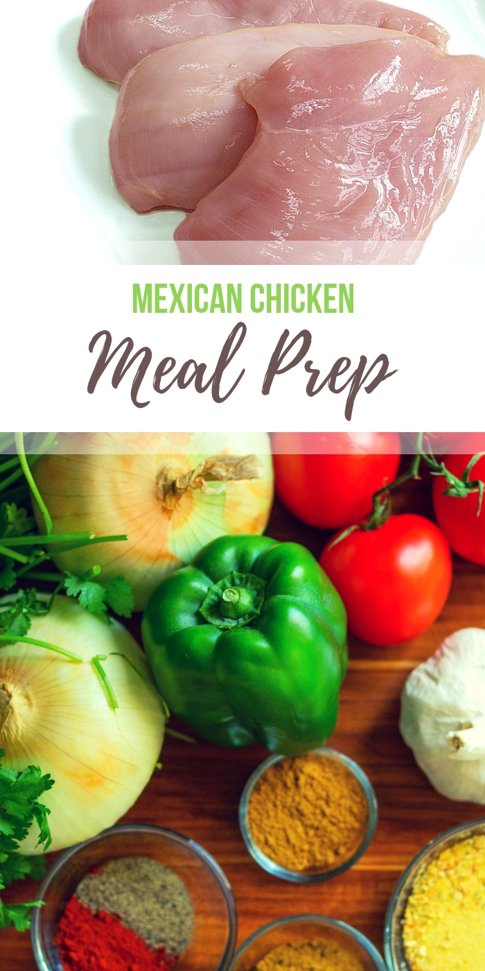 Mexican chicken meal prep recipes