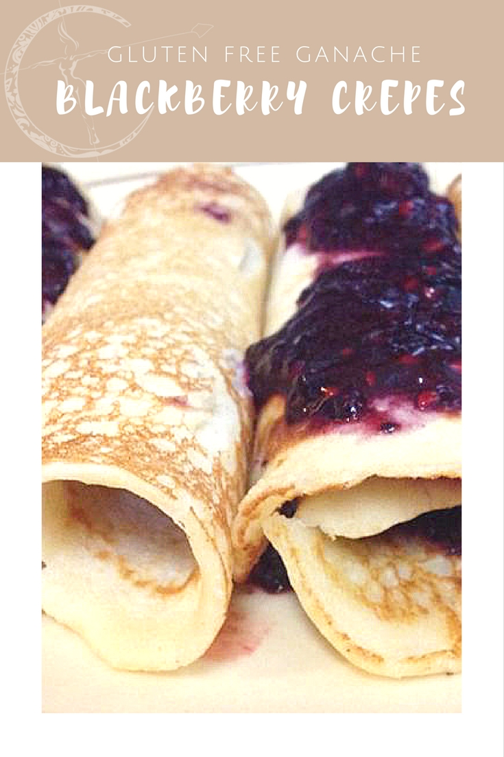 Chocolate Blackberry Gluten Free Crepes recipe from Body Compass Discovery's blog