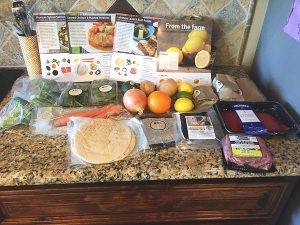 example of blue apron package contents