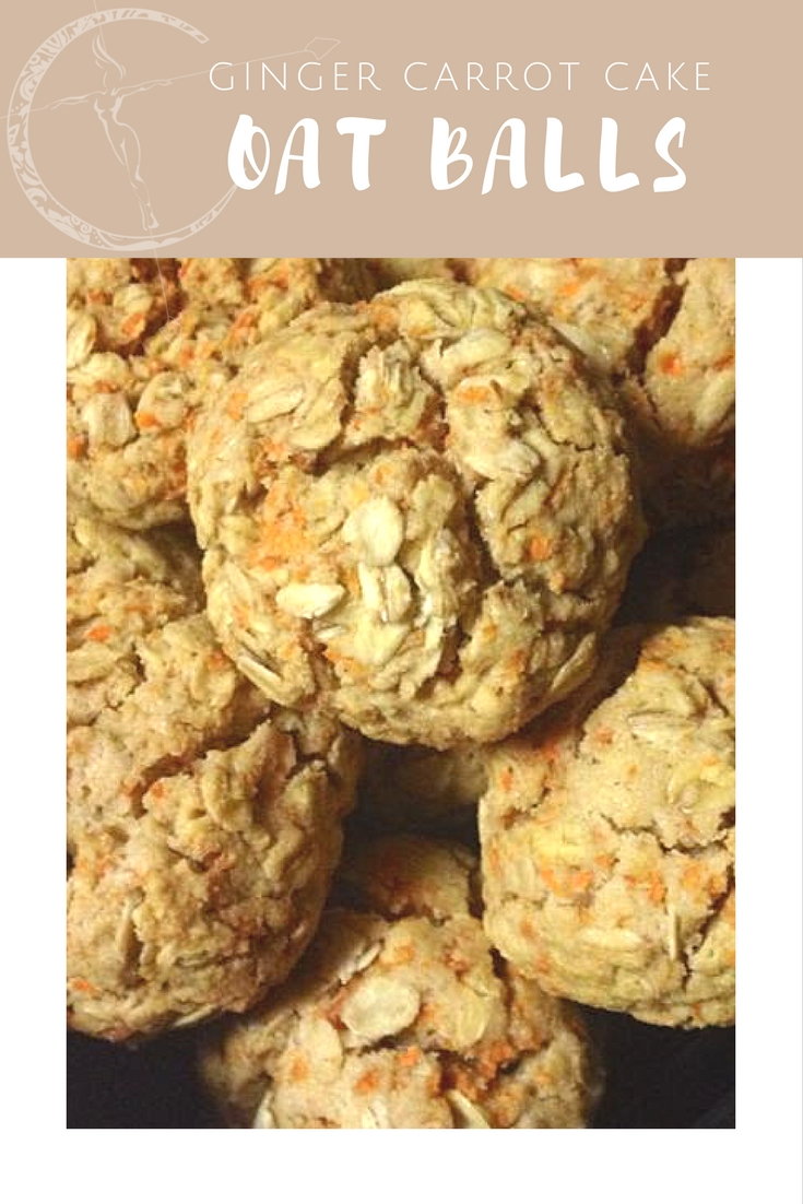 Carrot cake oatmeal balls from Body Compass Discovery's blog