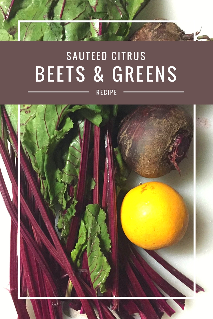 Citrus Beets and Greens recipe from Body Compass Discovery's blog