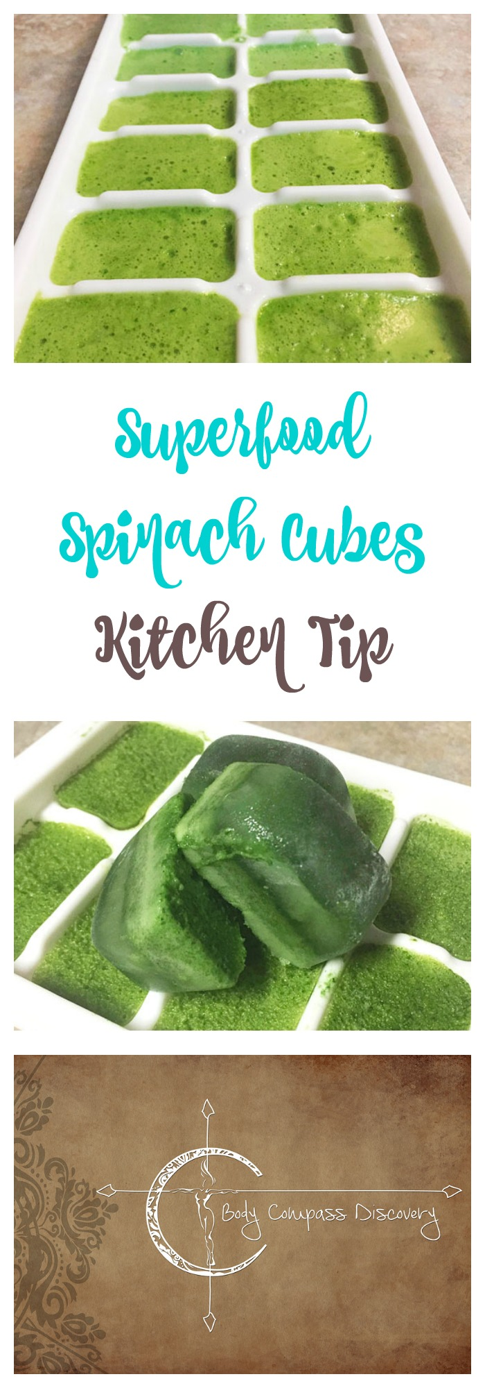 Superfood Spinach Cubes kitchen tip