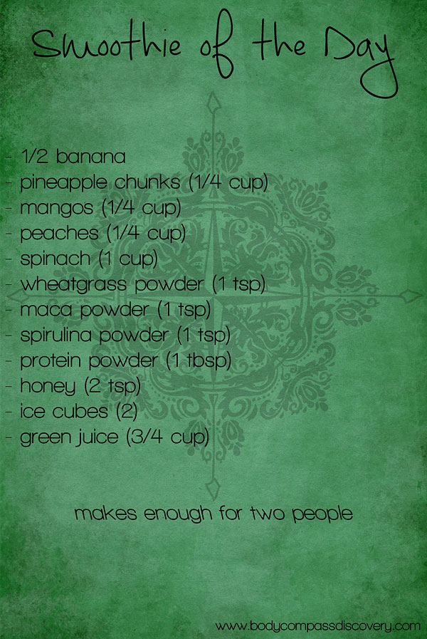green power smoothie recipe