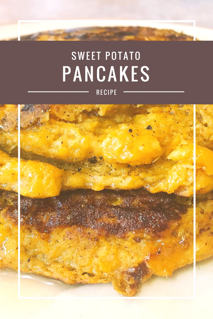 Sweet Potato Pancakes from Body Compass Discovery's blog