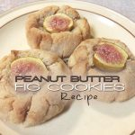 peanut butter fig cookies title