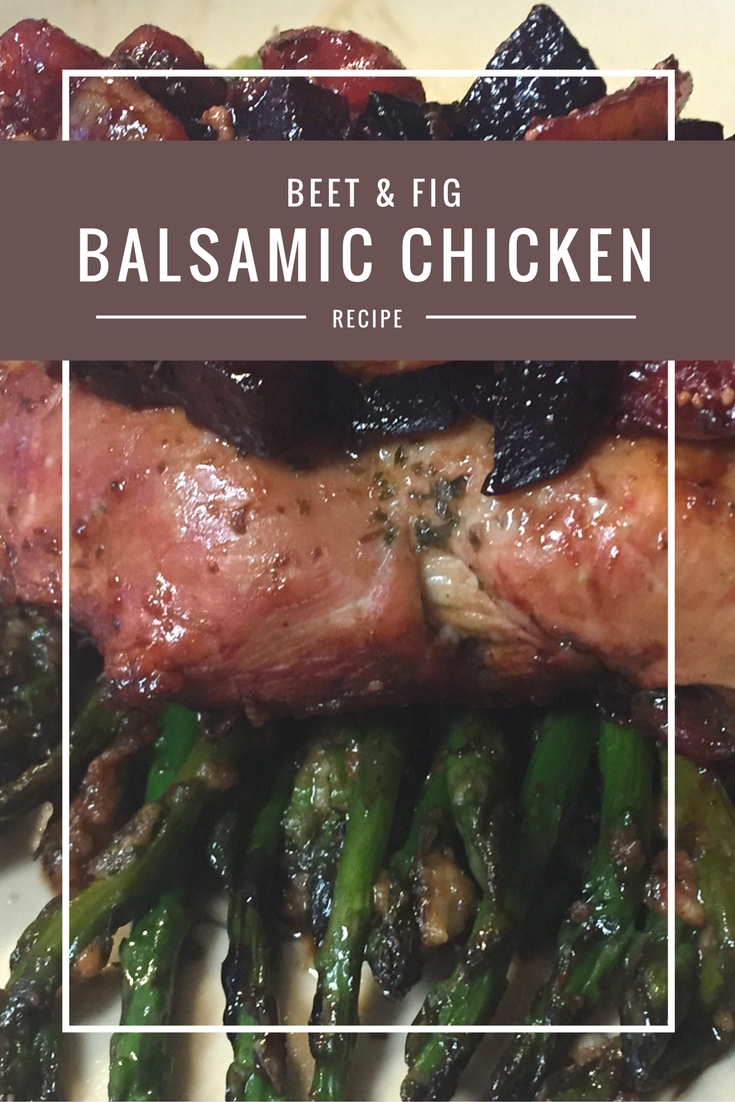beet & fig Balsamic Chicken from Body Compass Discovery's blog