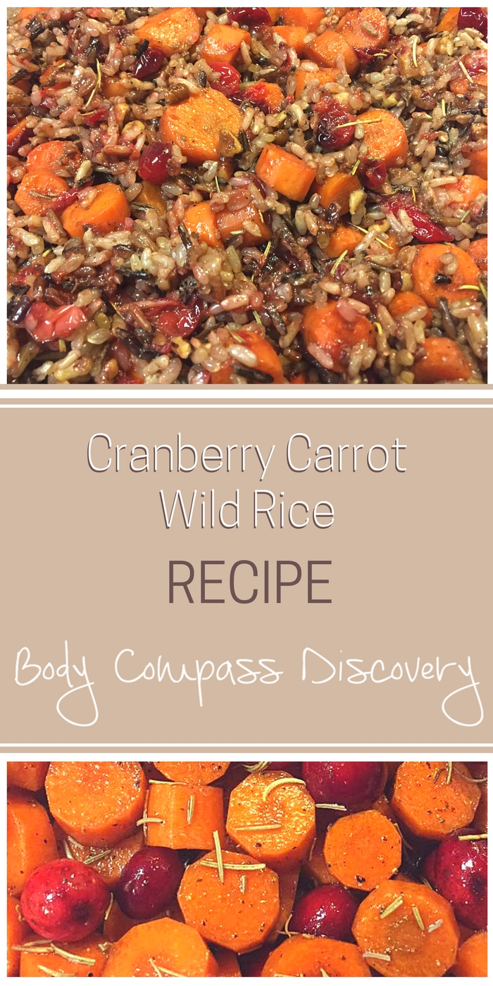Roasted Pecan and Honey-Balsamic Cranberry Carrot Wild Rice Recipe