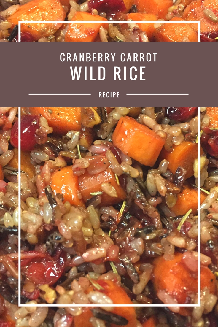 Cranberry Carrot Wild Rice recipe from Body Compass Discovery's blog