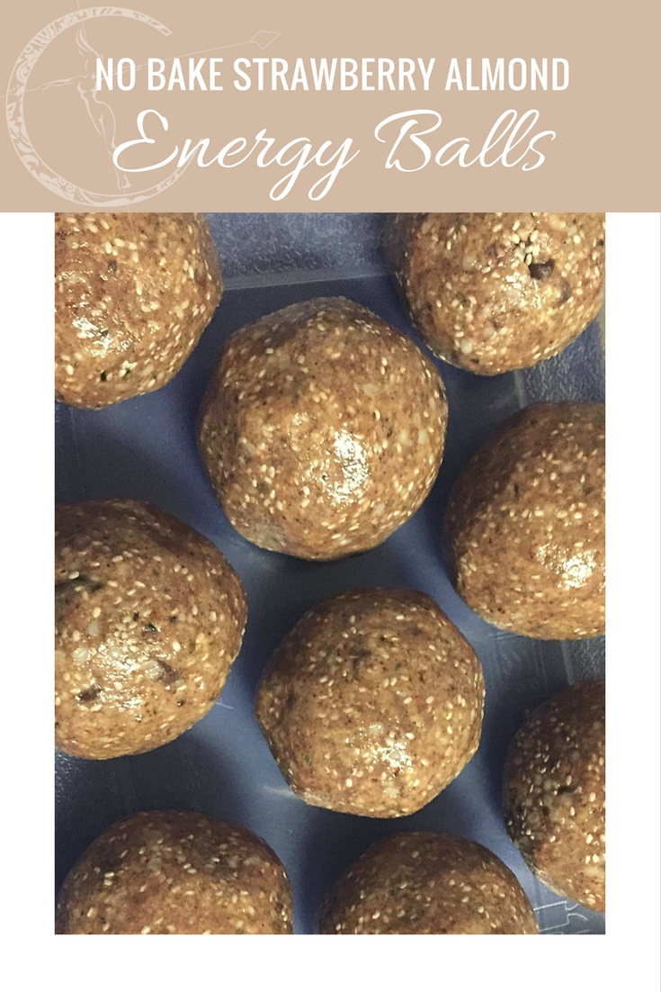 No Bake Strawberry Almond #Shakeology Superseed Energy Balls recipe from Body Compass Discovery's blog
